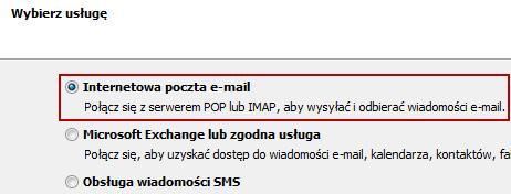 Microsoft Outlook 2010 lub 2013 - konfiguracja konta pocztowego